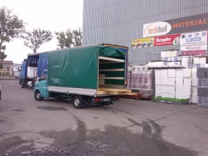 Transport bram,okien Słupsk.Odbiór towarów marketów Słupsk Gdynia Gdańsk Pomorskie.